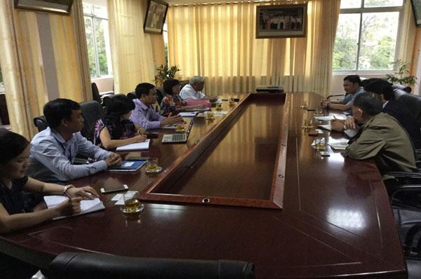 Hợp tác đào tạo giữa Trường Đại học Công nghiệp Vinh với Trường Đại học FSG (Nhật Bản).