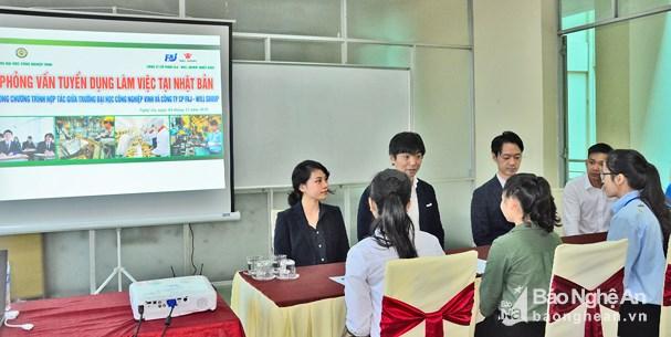 Trường Đại học Công nghiệp Vinh: Đón nhận những sinh viên đầu tiên sang làm việc tại Nhật Bản