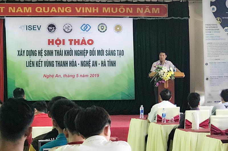 Hội thảo xây dựng hệ sinh thái khởi nghiệp đổi mới sáng tạo liên kết vùng Thanh Hóa – Nghệ An – Hà Tĩnh