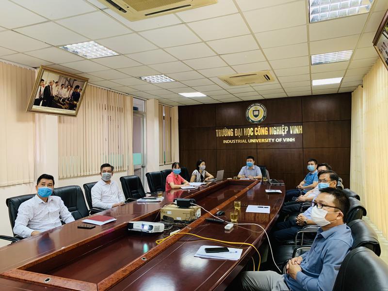 Đại học Công nghiệp Vinh tham gia Hội nghị tập huấn nghiệp vụ kiểm tra công tác coi thi tốt nghiệp THPT năm 2021