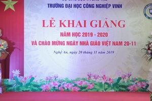 Lễ khai giảng năm học 2019 – 2020 và Chào mừng ngày Nhà giáo...