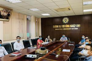 Đại học Công nghiệp Vinh tham gia Hội nghị tập huấn nghiệp...