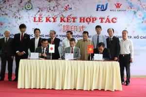Ảnh Lễ ký kết với Công ty FAJ - Will Group