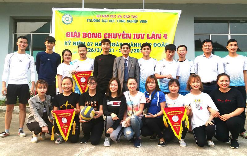 Chung kết và bế mạc giải bóng chuyền Nam, Nữ sinh viên Trường Đại học Công nghiệp Vinh lần IV chào mừng 87 năm ngày thành lập Đoàn TNCS Hồ Chí Minh (26/3/1931 – 26/3/2018)