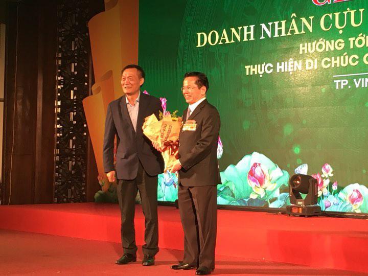 Chương trình gặp gỡ giao lưu với lãnh đạo Hiệp hội Doanh nhân Cựu chiến binh Việt Nam