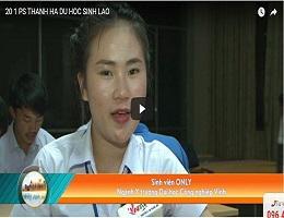 Mô hình giúp sinh viên Lào học Tiếng Việt tại trường ĐH Công Nghiệp Vinh