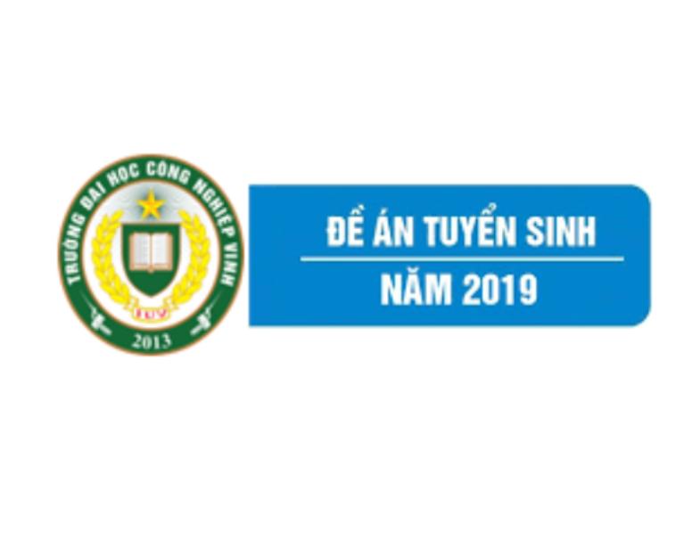 Đề án tuyển sinh của Trường Đại học Công nghiệp Vinh năm 2019