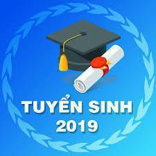 Thông báo tuyển sinh Đại học năm 2019