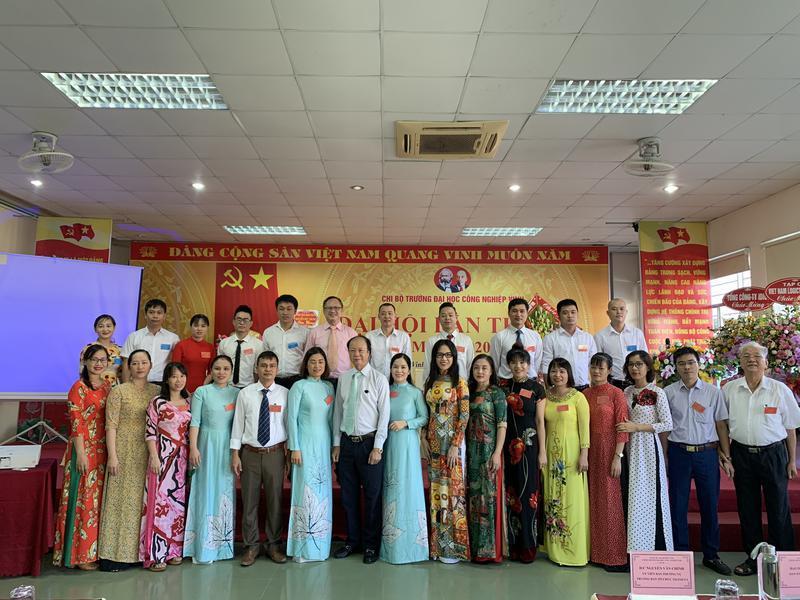 Đại hội chi bộ Trường Đại học Công Nghiệp Vinh lần thứ III nhiệm kỳ 2020 – 2025