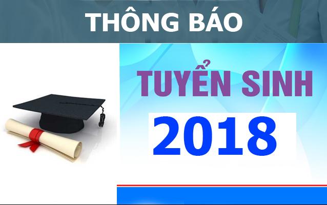Thông báo tuyển sinh trình độ Cao đẳng chính quy năm 2018